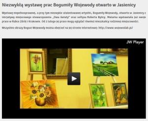 Bogumila Wojewoda w ITV Myslenice